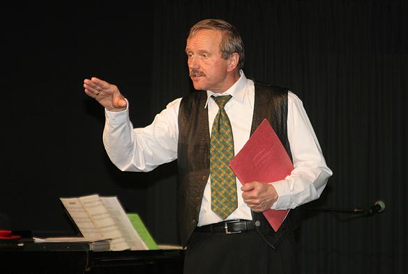 Humortherapeut Jürgen Theile - ein Notarzt in Not. Fotos: J. Theile
