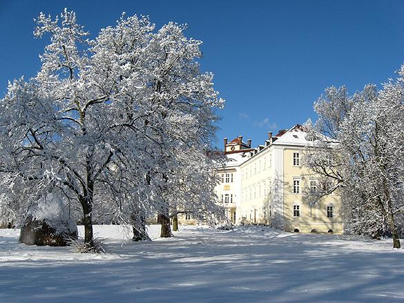Der Schlosswinter in Lübbenau wird kulinarisch, humorvoll und kriminell. Foto: Schloss Lübbenau