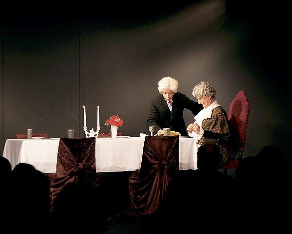 Einen vergnüglichen Einblick ins Theaterspielen gewährt Matthias Härtig am 29.12. und 30.12.2013 in der Bunten Bühne Lübbenau. Foto: Queenie Nopper