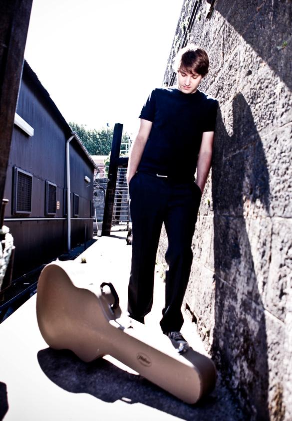 Das Daniel Stelter Quartett öffnet am 20. Februar 2014 den Swingladen für Musikfreunde auf Schloss Lübbenau. Bildautor: Simon Hegenberg
