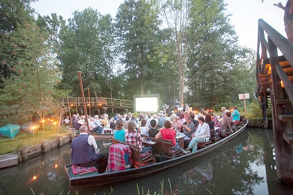 Der Auftakt der Spreewaldkonzerte mit dem trio zeitklang am 17. Juli.