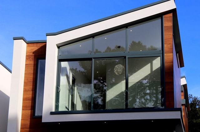 Moderne Fensterfront