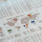 Börsenkurse in einer Zeitung